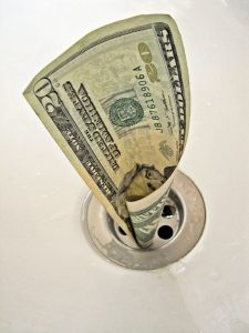Money down drain - quick fix